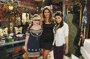 Jennifer, cindy and selena behind the scenes fashion week