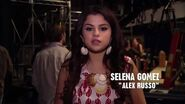 Selena behind the scenes in alex vs. alex