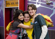 Selena , jennifer and daniel alex's brother maximan
