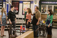 Justin, juliet, theresa, jerry and alex Wizards vs. Vampires on Waverly Place