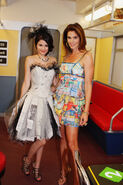 Cindy and selena behind the scenes fashion week