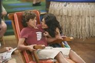 Selena and jake on zack and cody on deck