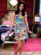 Selena gomez behind the scenes fashion week