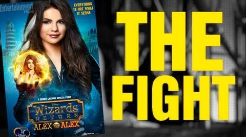 The Wizards Return Alex Vs Alex - Good Alex vs Bad Alex Fight (Clip)
