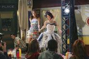 Alex and bibi runway Fashion week2
