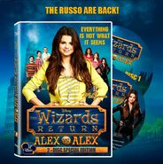 DVD cover alex vs. alex