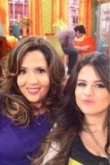 Selena and maria behind the scenes The Wizards Return Alex vs. Alex