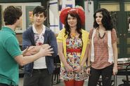 Zeke, justin, harper and alex Wizards Unleashed