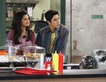 1x11 alex and justin in the kitchen