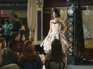 Alex runway Fashion week