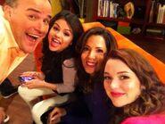 Selena, david, maria and jennifer The Wizards Return Alex vs. Alex
