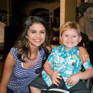 Wizards vs. Everything selena behind the scenes