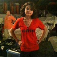 Selena behind the scenes halloween