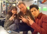 David H., selena and david d. behind the scenes wizard for a day