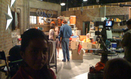 Behind the scenes doll house