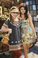 Selena and jennifer behind the scenes fashion week