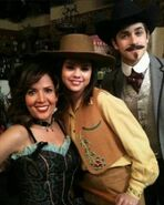 Western Show behind the scenes