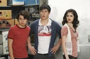 Max, justin and alex Wizards Unleashed
