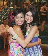 Brenda and selena cast away to another show