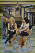 Shakira and selena dude looks like shakira