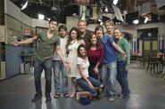 Season 3 on the set