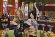 Selena and shakira dude looks like shakira