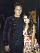 Selena behind the scenes The Wizards Return Alex vs. Alex