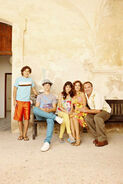 Russo's family for the movie 4