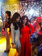 Rock around the clock behind the scenes selena and maria