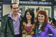 Kate, scot and selena behind the scenes Wizards vs. Finkles