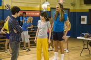 Justin, alex and Franken Girl