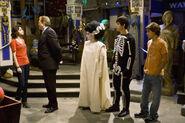 Alex, harper, justin and max halloween