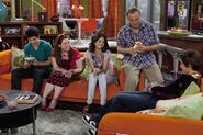 Justin, harper, alex, jerry and max Lucky Charmed