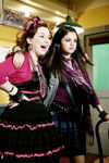 Jennifer and selena behind the movie 4