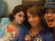 Selena and jennifer halloween behind the scenes