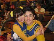 Selena and david behind the scenes positive alex