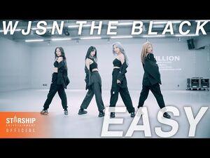 -Dance Practice- 우주소녀 더 블랙 (WJSN THE BLACK) - Easy