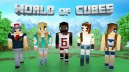 World of Cubes Sport Skin Pack Overview