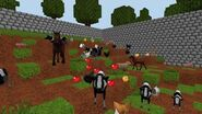 World of Cubes - Animals Flash Mob