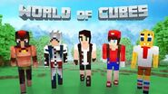World of Cubes Misc Skin Pack Overview
