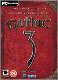 Gothic 3 - oficjalne logo Gothic 3 od CD Projekt free licensed 21.05.2008.jpg