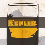 Kepler square icon
