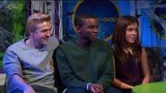 Aimee, Bobby & Kedar In The CBBC Office (Live Link) 2012
