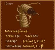 Wurmspinne