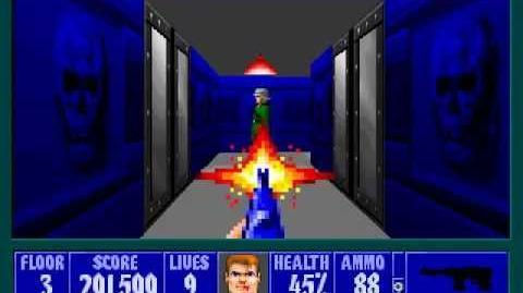 Spear Of Destiny 2 - Return To Danger - Floor 3 (Submarine Pen 3)