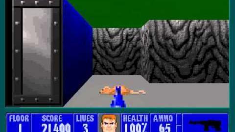 Spear Of Destiny 2 - Return To Danger - Floor 1 (Submarine Pen 1)