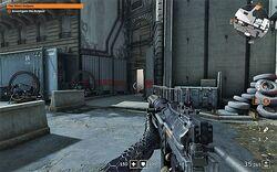 Blitzgewehr-First-Person