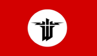 Wolfenstein Censored Flag