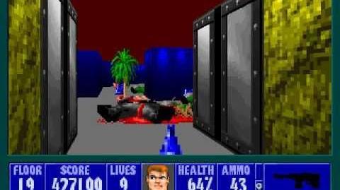 Spear Of Destiny 2 - Return To Danger - Floor 5 (Submarine Pen Secret)