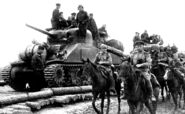M4A2 in Red Army, Western Poland, 1944.